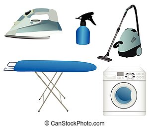 Household appliances - Color images of household appliances:...