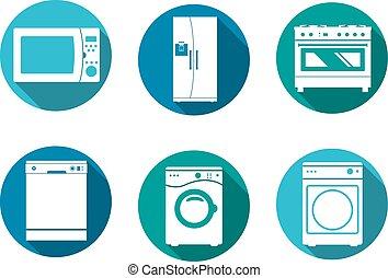 Household design icons