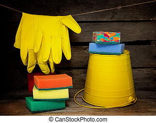 Household items for cleaning