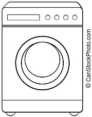 Household object washing machine