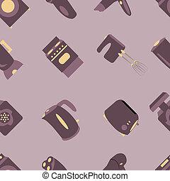household seamless pattern