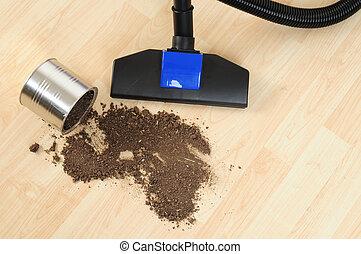Housekeeping - Cleaning floor