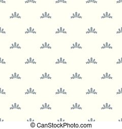 Houseplant pattern vector seamless repeat for any web design