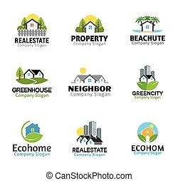 Houses and skyscraper Design