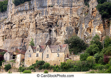 Houses at Beynac