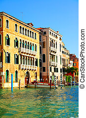 Houses at Grand Canal