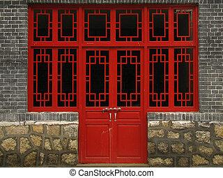 house's door