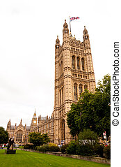 Houses of Parliament in London, England