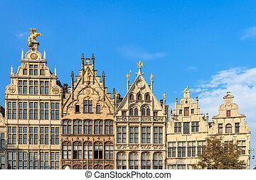 Houses in Antwerp
