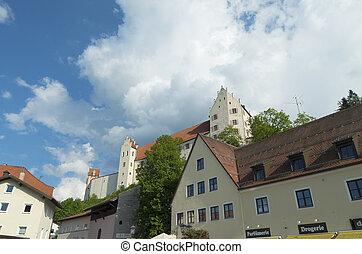 houses in Fussen, Germany