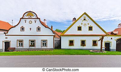 Holasovice - old Bohemian village on UNESCO heritage list - ...