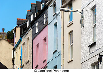 Houses in Padstow