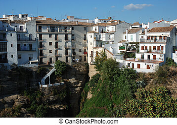 Houses in Ronda, Spain