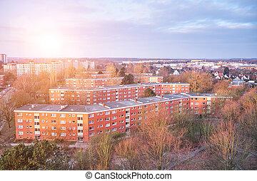 Houses in Suburban Neighborhood, Germany
