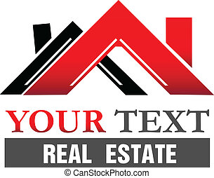 Houses logo - Houses for real estate company vector icon