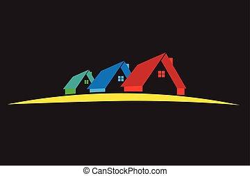 Houses logo vector