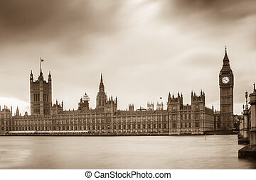 Houses of Parliament and Elizabeth Tower