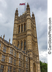 Houses of Parliament at Westminster, London, England