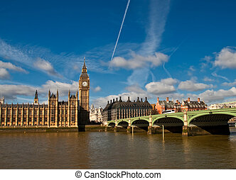 houses of parliament, Big Ben