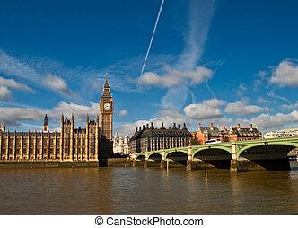 houses of parliament, Big Ben