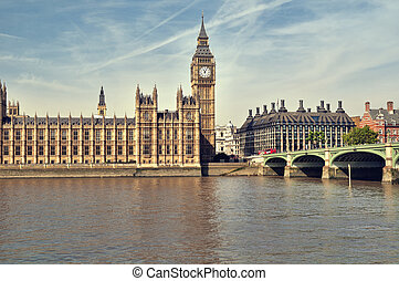 Houses of Parliament, London. - Houses of Parliament at...