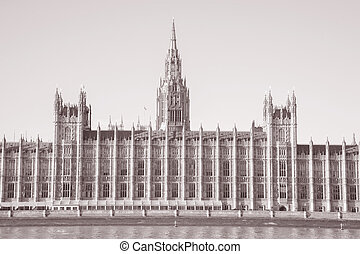 Houses of Parliament, Westminster; London
