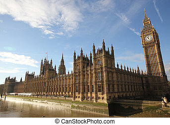 Houses of Parliament Westminster Palace London gothic architectu