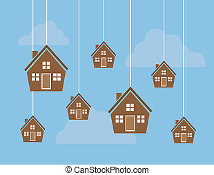 Houses on Strings