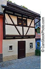 "Houses on the street ""Zlata ulicka"""