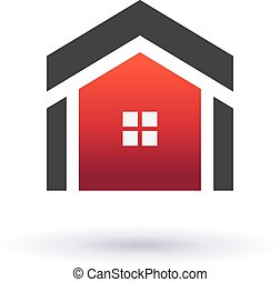 Houses real estate image icon