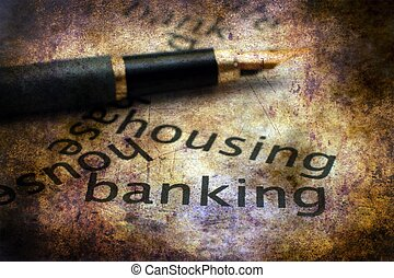 Housing and banking concept