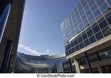 housing construction glass