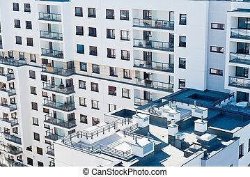 housing development during construction - housing...