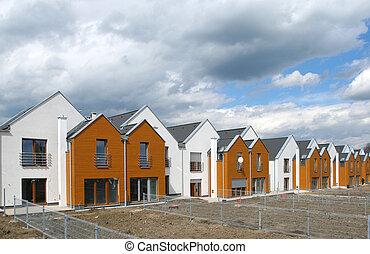 Housing development - Modern singly-family terraced homes in...
