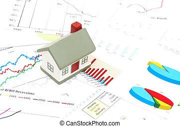 Housing market concept