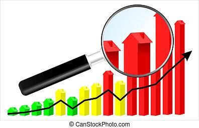 Housing market illustration