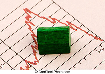 Housing Market Risk - Housing market concept image with ...
