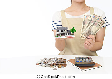 Housing model and money