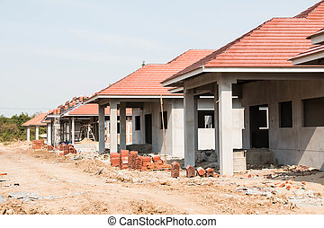 Housing project construction