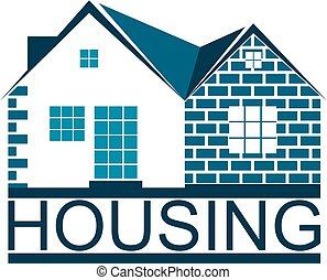 Housing symbol for business