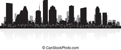 houston γραμμή ορίζοντα , περίγραμμα , πόλη