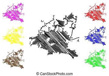 Houston City map - Houston City ( United States cities,...