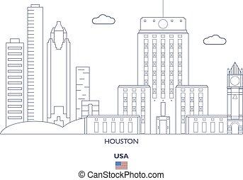 Houston City Skyline, USA