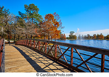 Houston Hermann park Mcgovern lake - Houston Hermann park ...