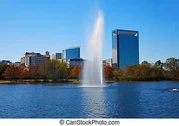 Houston Hermann park Mcgovern lake