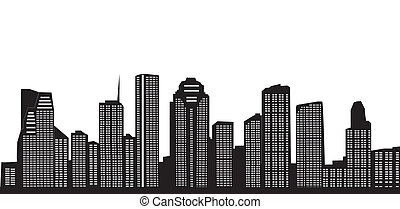 Houston - houston skyline