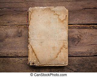 hout, boek, oud, achtergrond