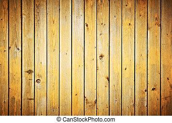 hout, grondslagen, texture., ouderwetse , omheining, achtergrond.