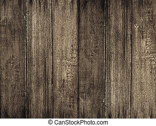 hout, grunge, achtergrond