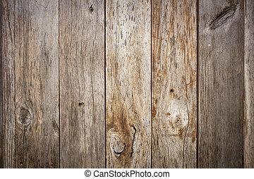 hout, grunge, verweerd, schuur